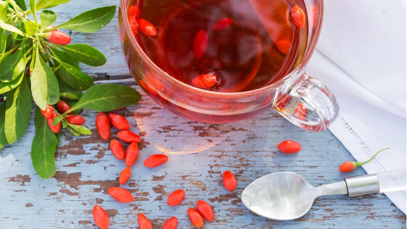 formas de consumo do goji berry